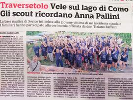 La Gazzetta di Parma parla della Base Nautica e di Anna