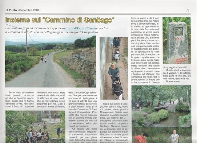 articolo valdenza santiago