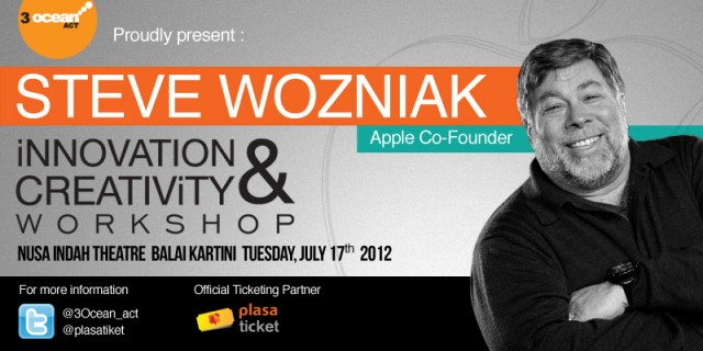 Steve Wozniak Apple - IDEAS ASIA