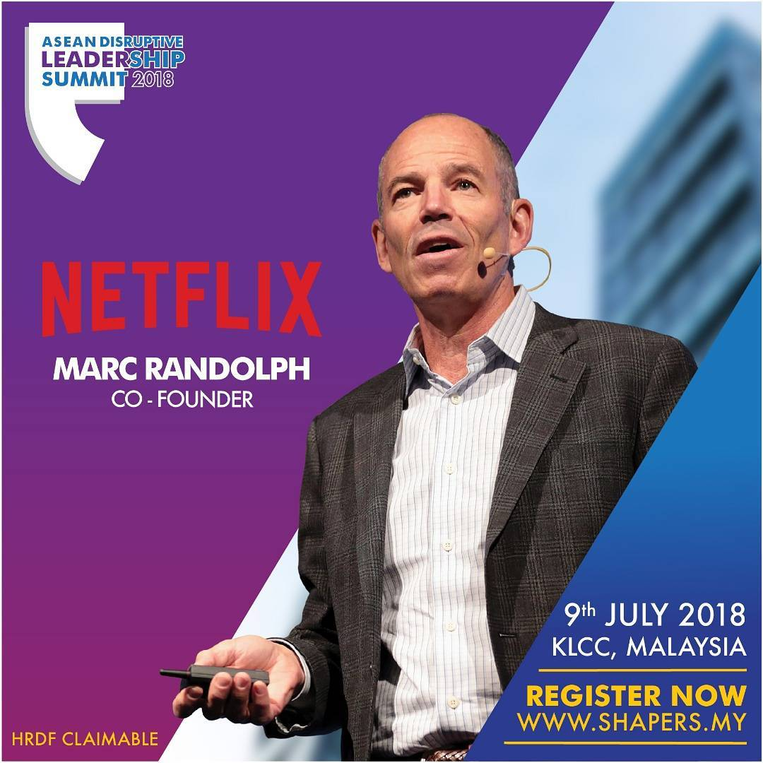 Marc Randolph Netflix Founder - IDEAS ASIA