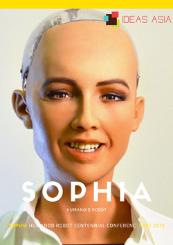 Sophia Humanoid Robot - IDEAS ASIA