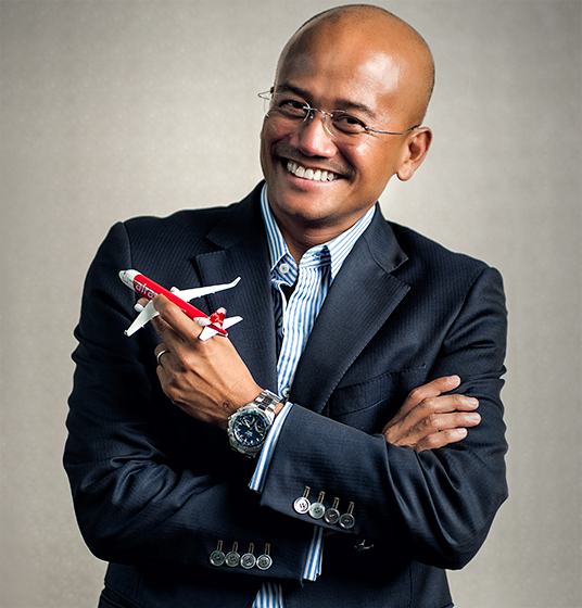 AAzran Air Asia X CEO - IDEAS ASIA