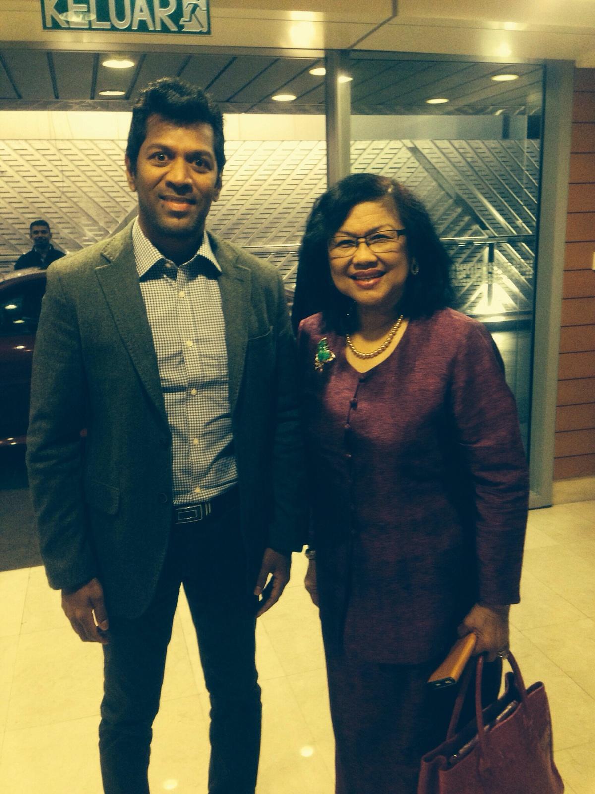 MIA Conference 2015 Tan Sri Rafidah
