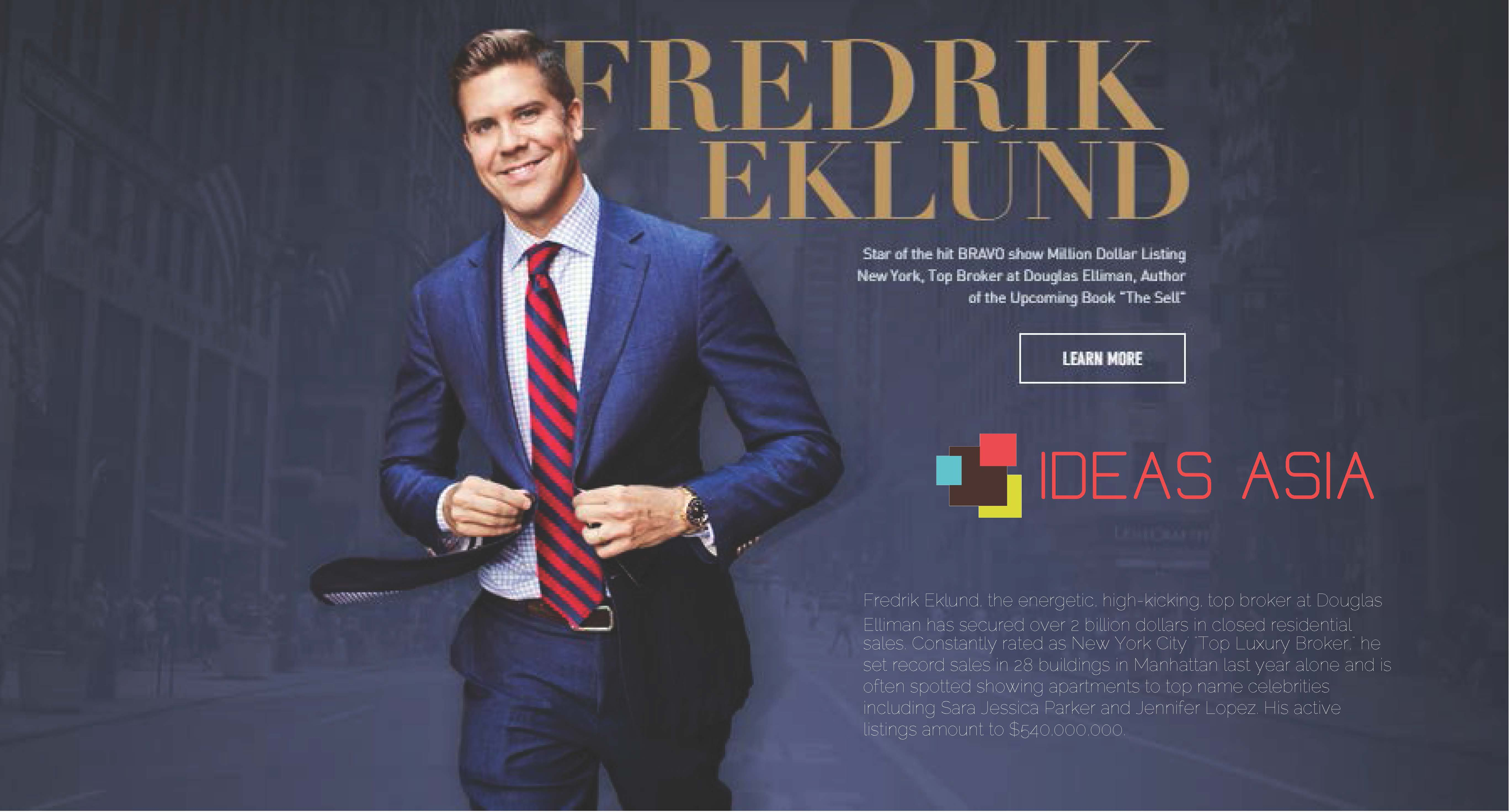 IDEAS ASIA - Fredrik Ekuland