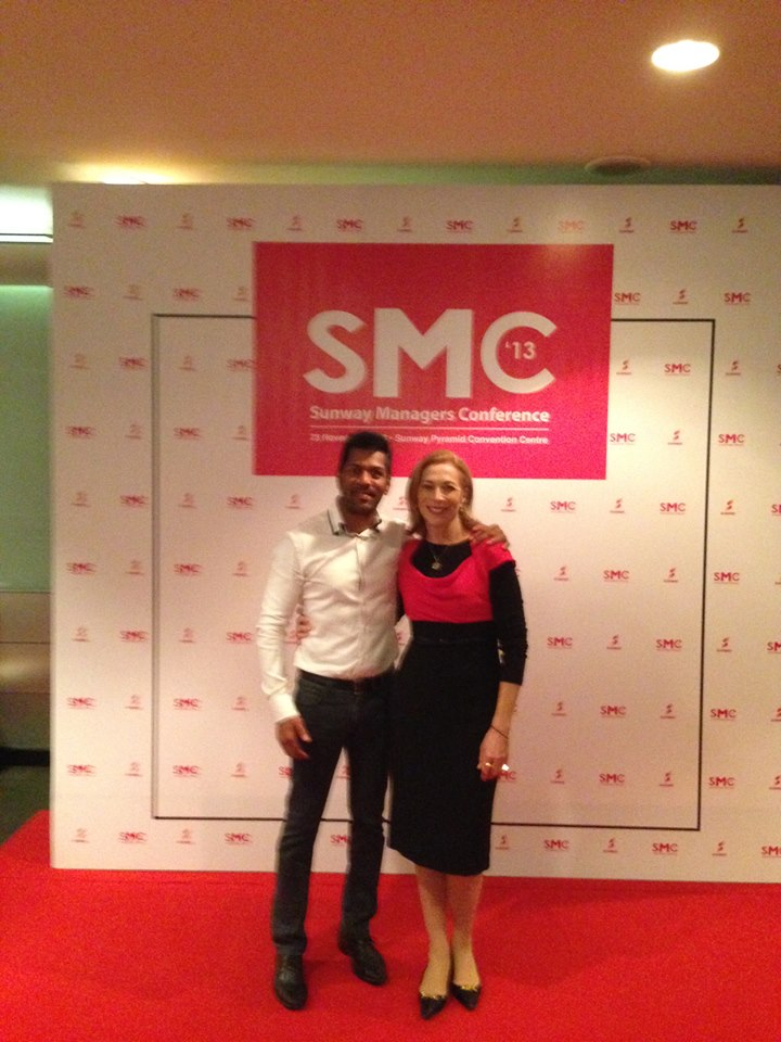 Kathrine Switzer at Sunway Managers