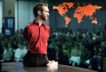 Nick Vujicic - Inspiring Speech