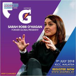 Sarah Robb Hagen Gatorade - IDEAS ASIA