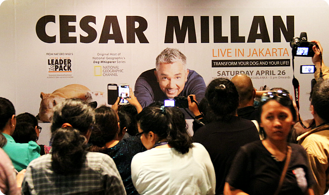 Cesar Milan Press Conference