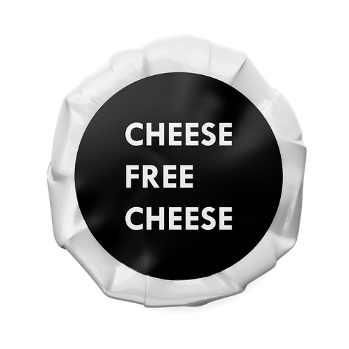 CHEESE FREE CHEESE