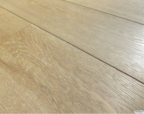 Light Aged Finish with Liming