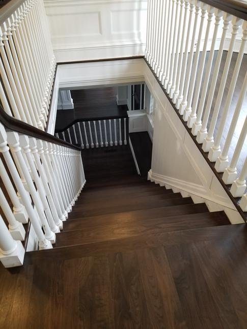 Walnut Stairs