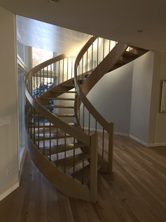 Stairs Refinish | Finewoodfinish.com