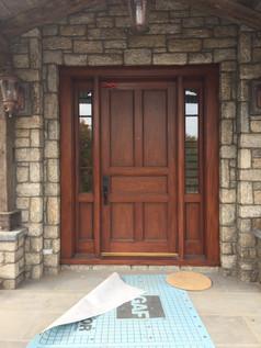 Entrance Door Finish