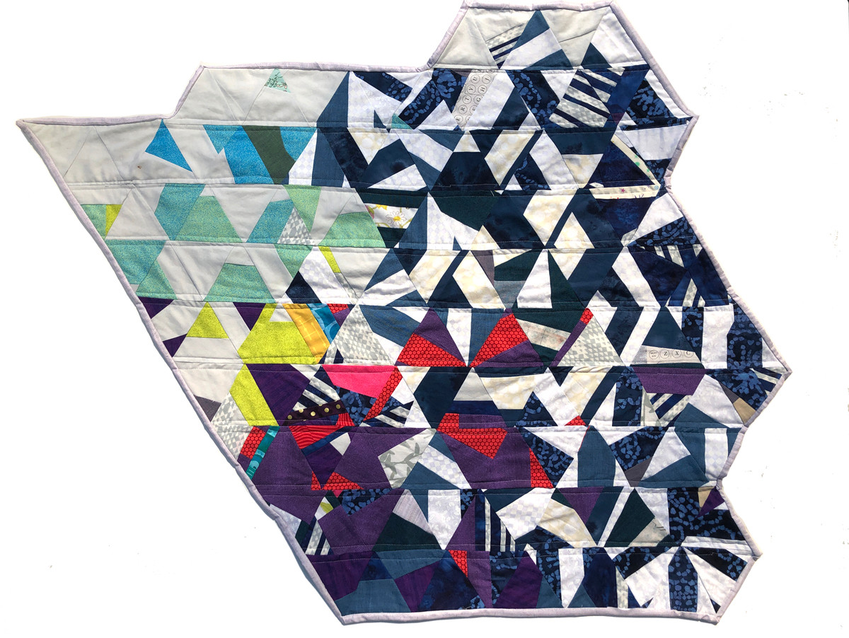Triangle Quilt, 2019