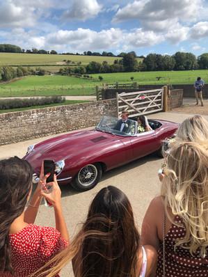Jaguar E Type Wedding car 3.jpg