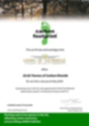 2020_06 CFP UK Trees Offset Certificate