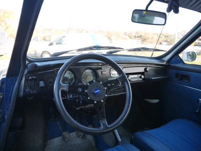 Saab 96 interior