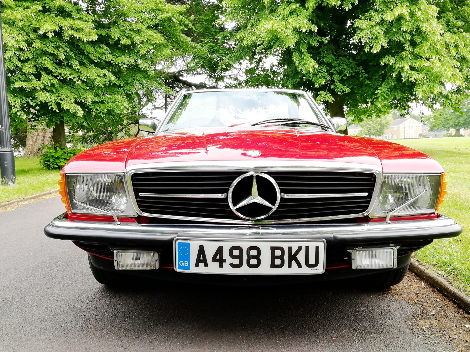 Mercedes SL For Hire