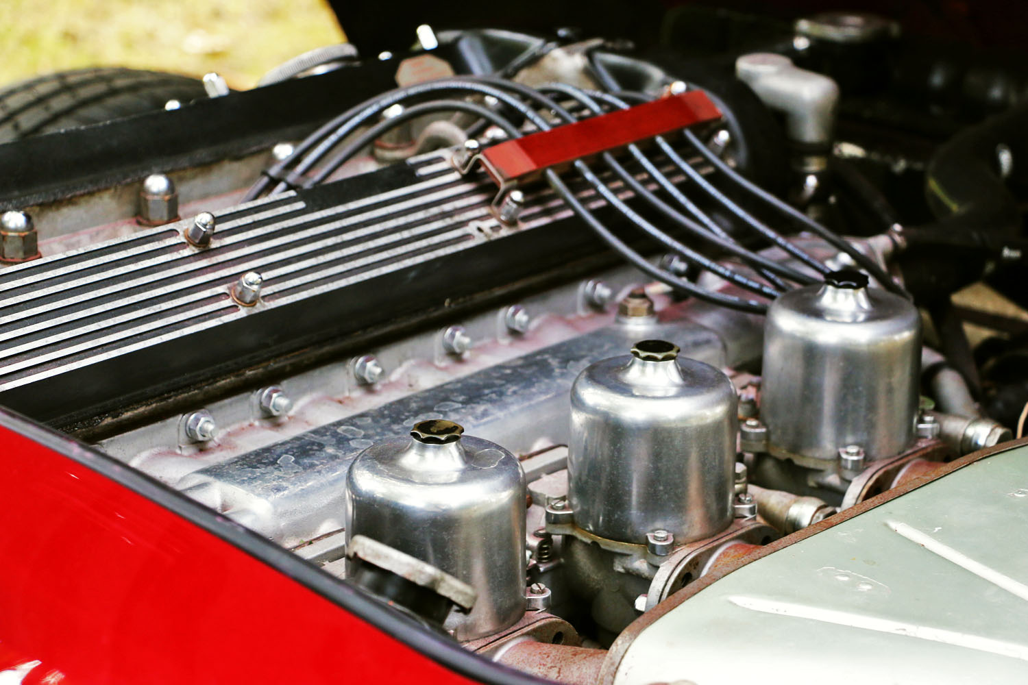 E Type 4.2 engine