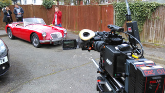 MG A in to be in Nescafe Advert!
