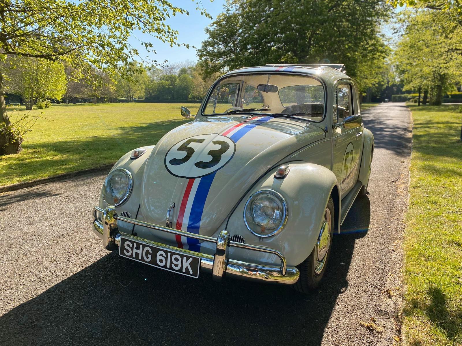 VW Beetle 'Herbie' For Hire