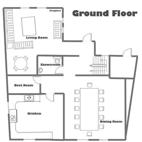 Chalet Soltir Floor Plan