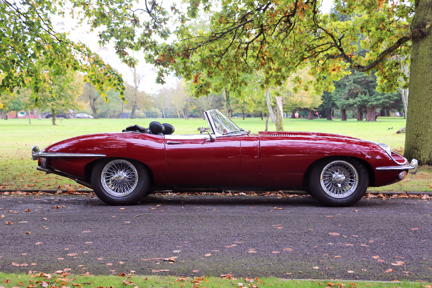E Type side profile