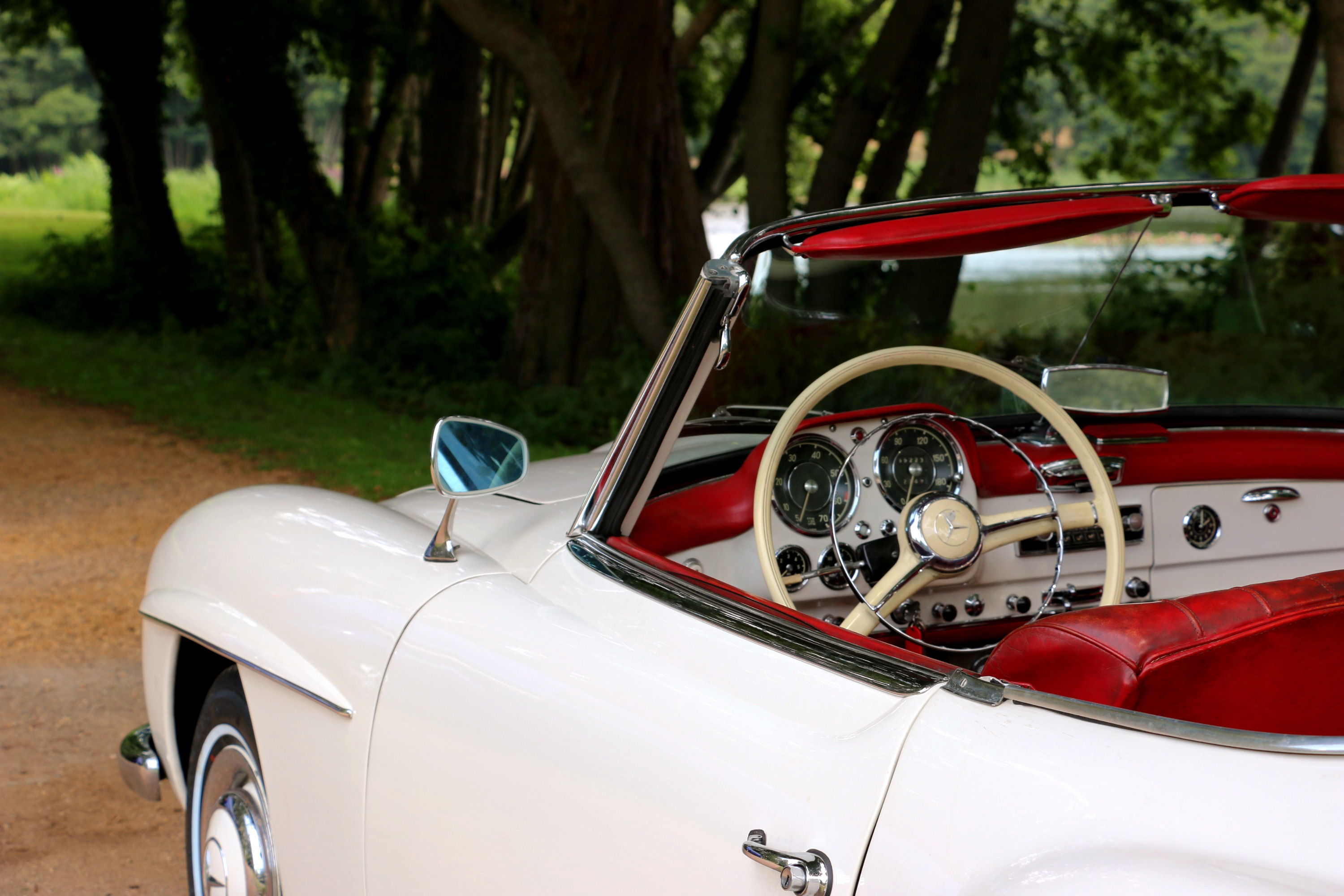 Mercedes 190SL For Hire 4