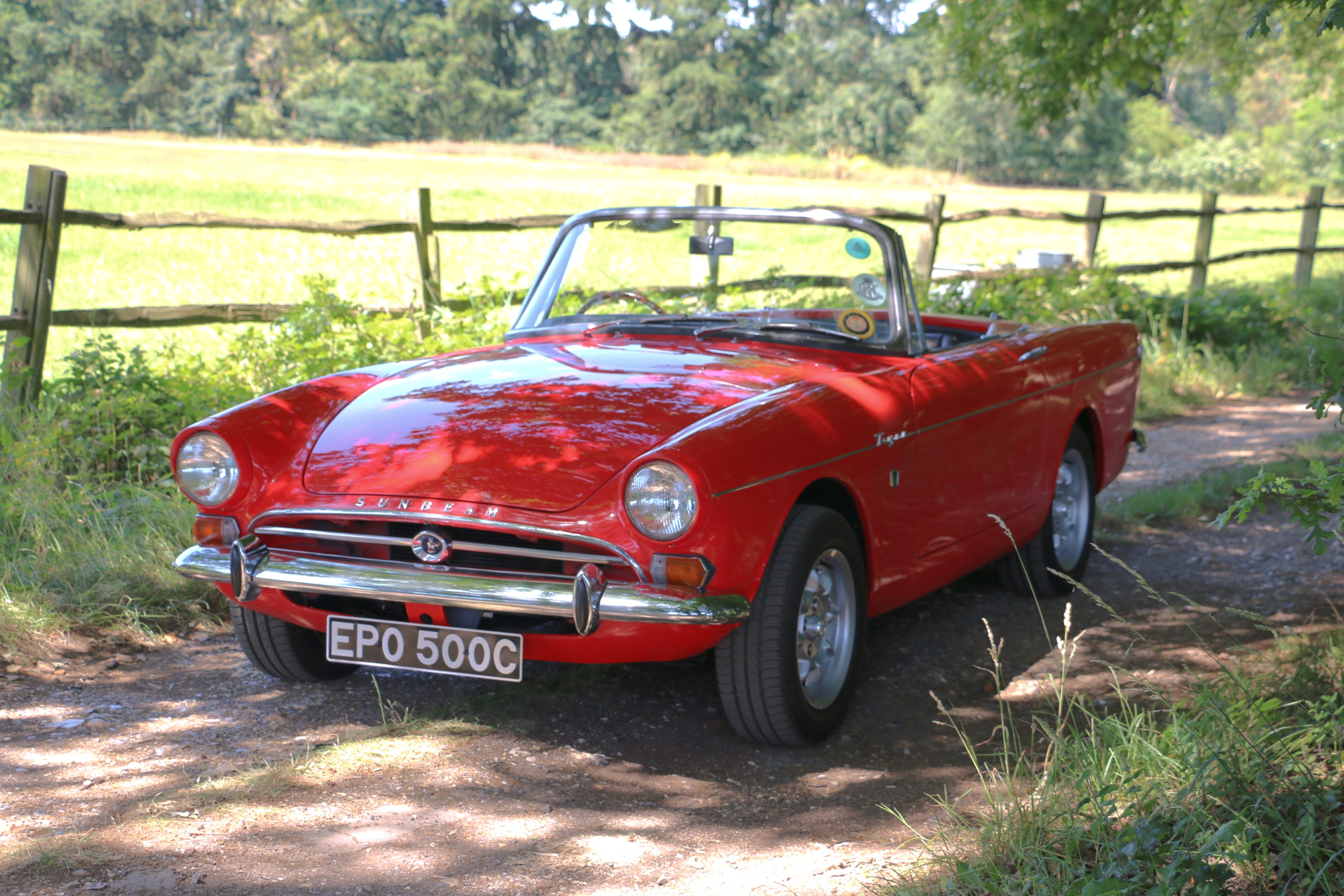 Sunbeam Tiger For Hire