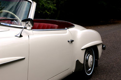Mercedes 190SL For Hire 7