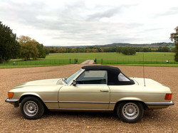 Mercedes 280SL For Hire