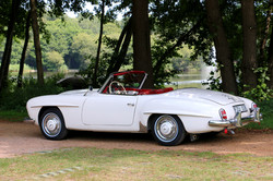 Mercedes 190SL For Hire 5
