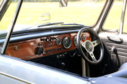 Triumph Herald Convertible for hire