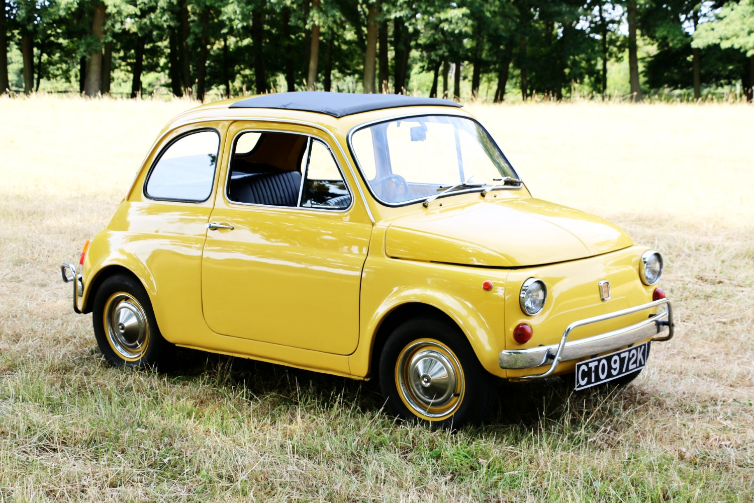 Fiat 500 classic car To Hire