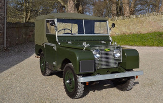 Land Rover Series 1 Added To The Fleet!