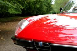 Alfa Romeo 2000 Spider for hire 9