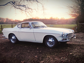 Volvo P1800S now available for self drive hire!
