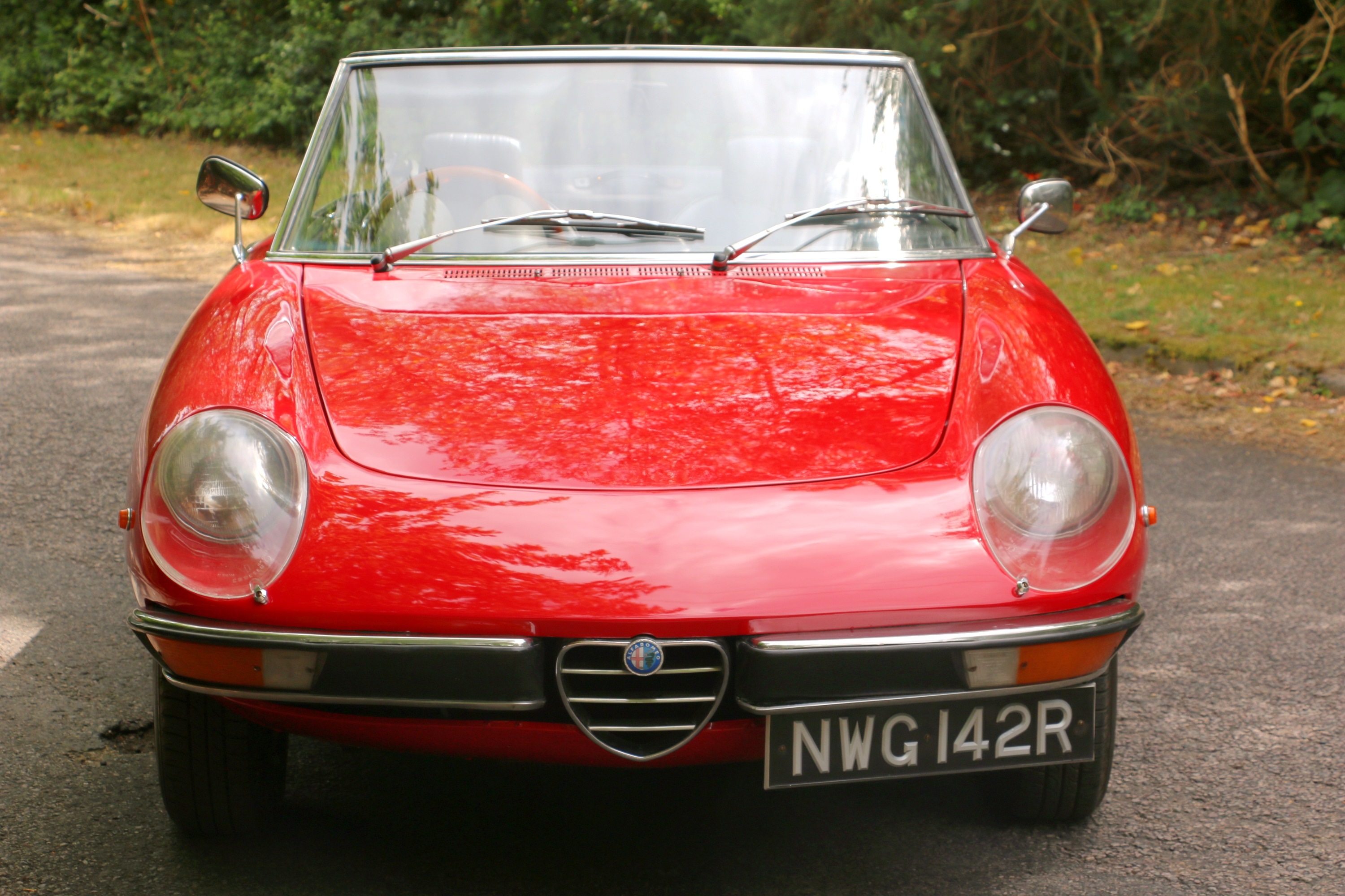 Alfa Romeo 2000 Spider for hire 2