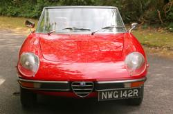 Alfa Romeo 2000 Spider for hire 2