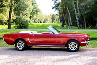 Ford Mustang Convertible for hire!