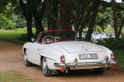 Mercedes 190SL For Hire 3