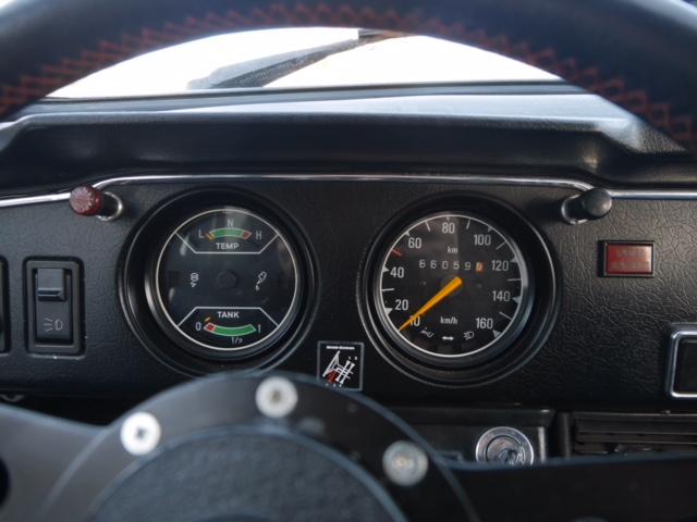Saab 96 dials