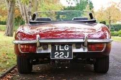 E Type rear