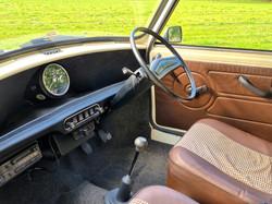 Austin Mini To Hire interior