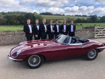 Jaguar E Type Wedding car 2.jpg