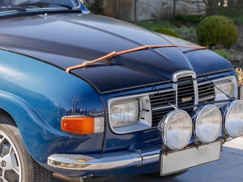 Saab 96 bonnet
