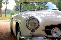 Mercedes 190SL For Hire 2