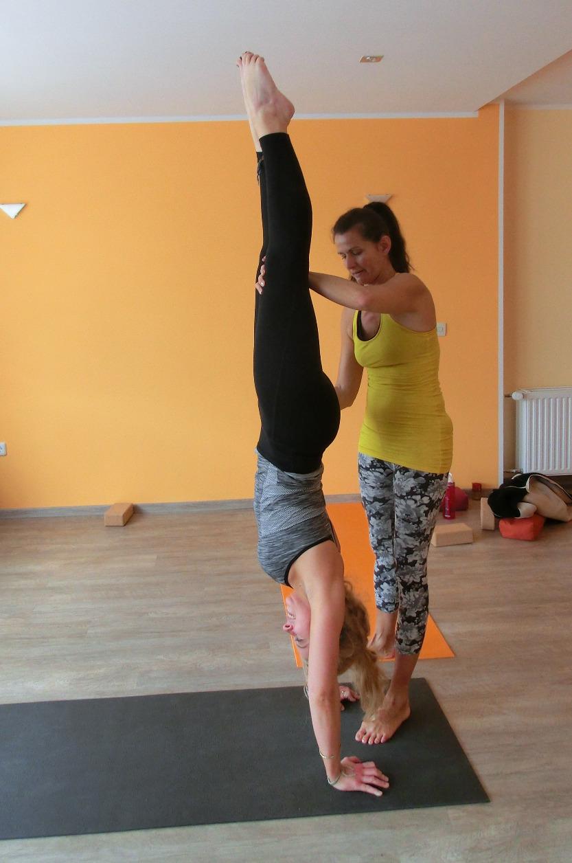 Yogaworkshop Handstand 1