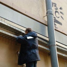 Установка лотков на фасаде.JPG