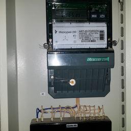 Счетчик подключенный через трансформатор